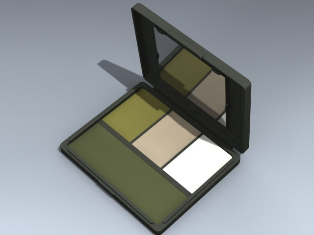 3d camouflage face paint compact model