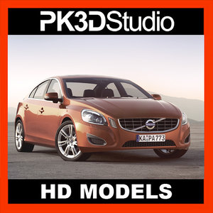 s60 car 3d model