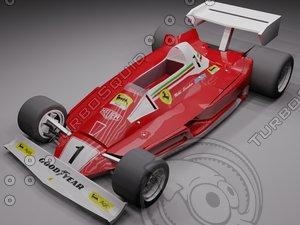 3d niki formula 1 car