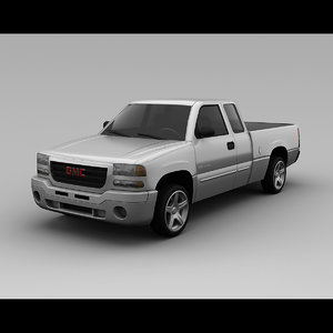 gmc k1500 sierra 2000 3ds