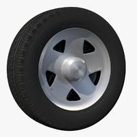 3d wheel van rim