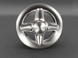 3ds max car tyre rim