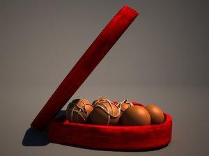 chocolate box 3d max