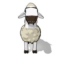 3d cartoons sheep
