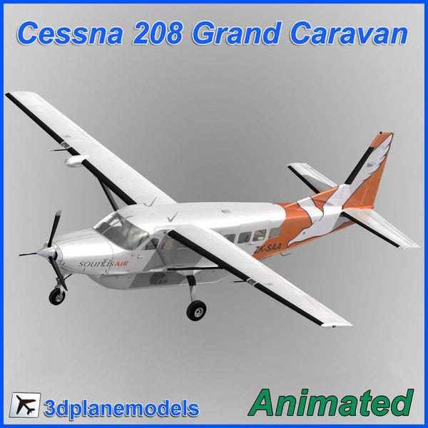 max cessna 208 caravan grand