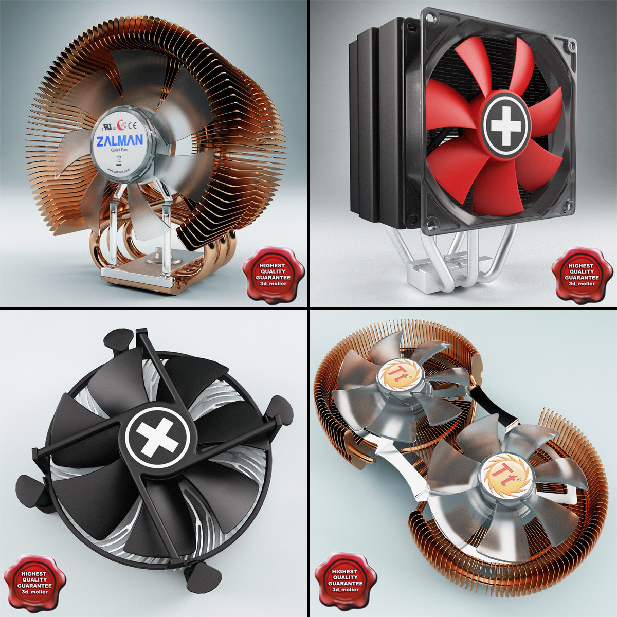 3d cpu coolers v2