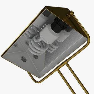 3d 3ds desk lamp