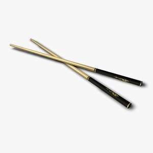 3ds max dragon chopsticks