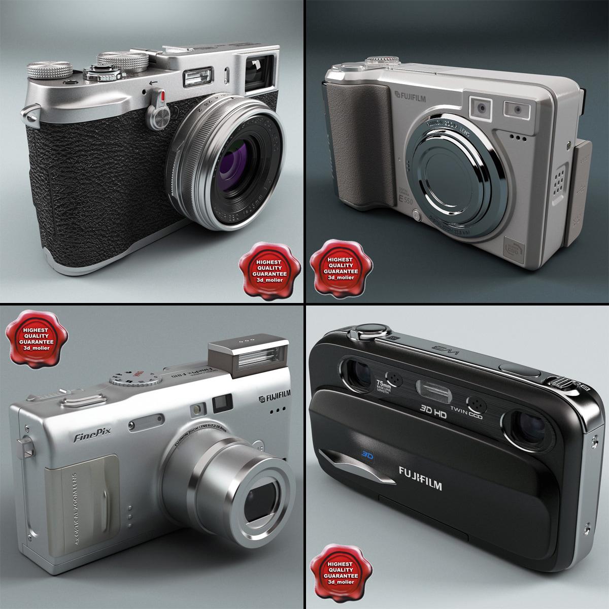 digital cameras v5 3d obj