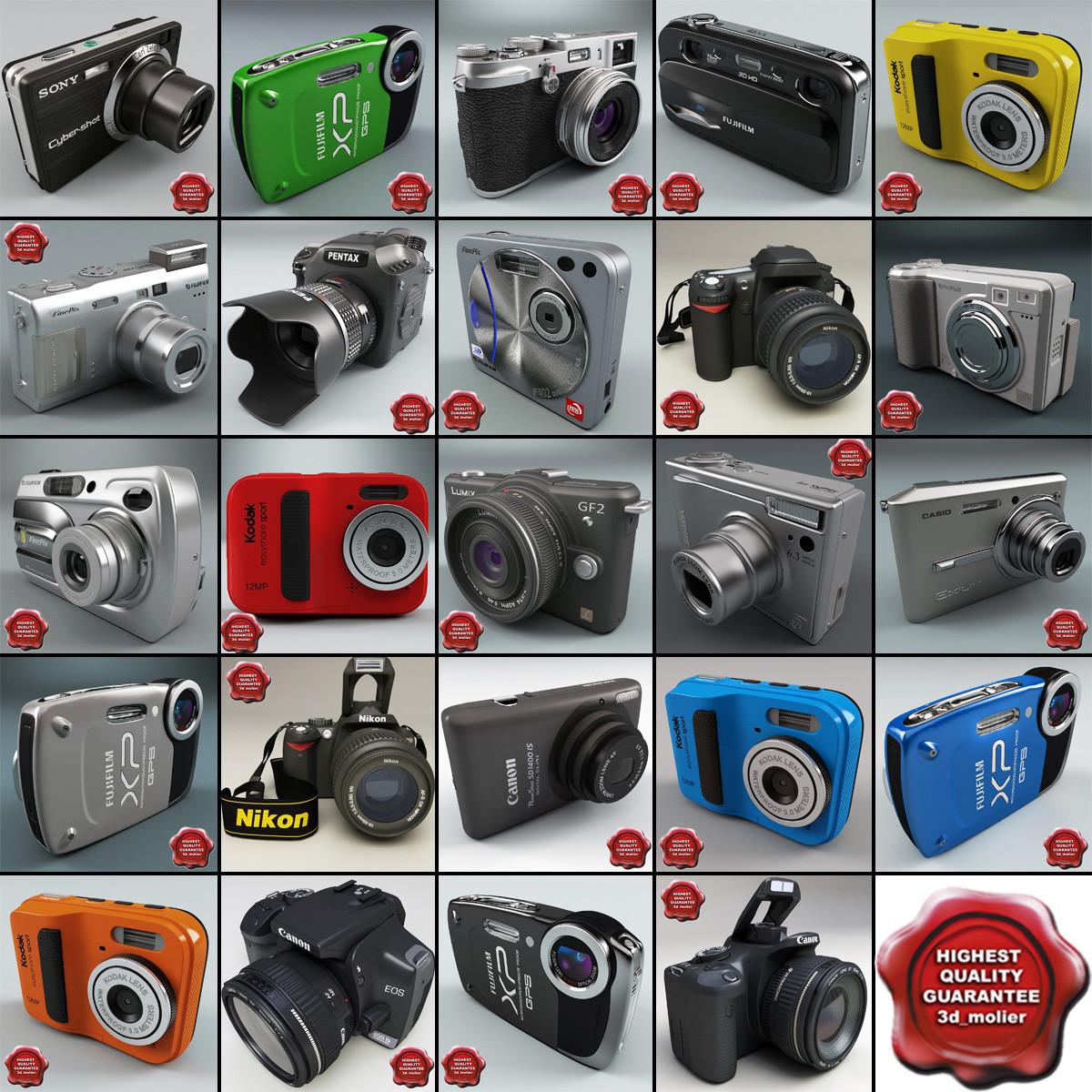c4d digital cameras v9