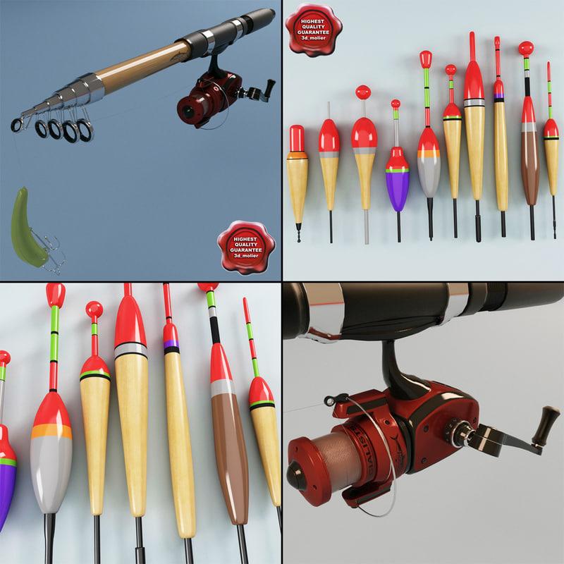 fishing rod 3d 3ds