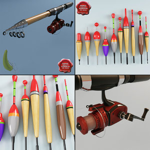 fishing rod 3d 3ds