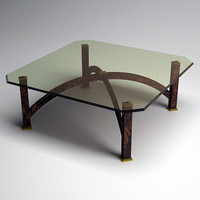 arch coffee table 3d model