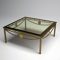 architect coffee table 3d 3ds