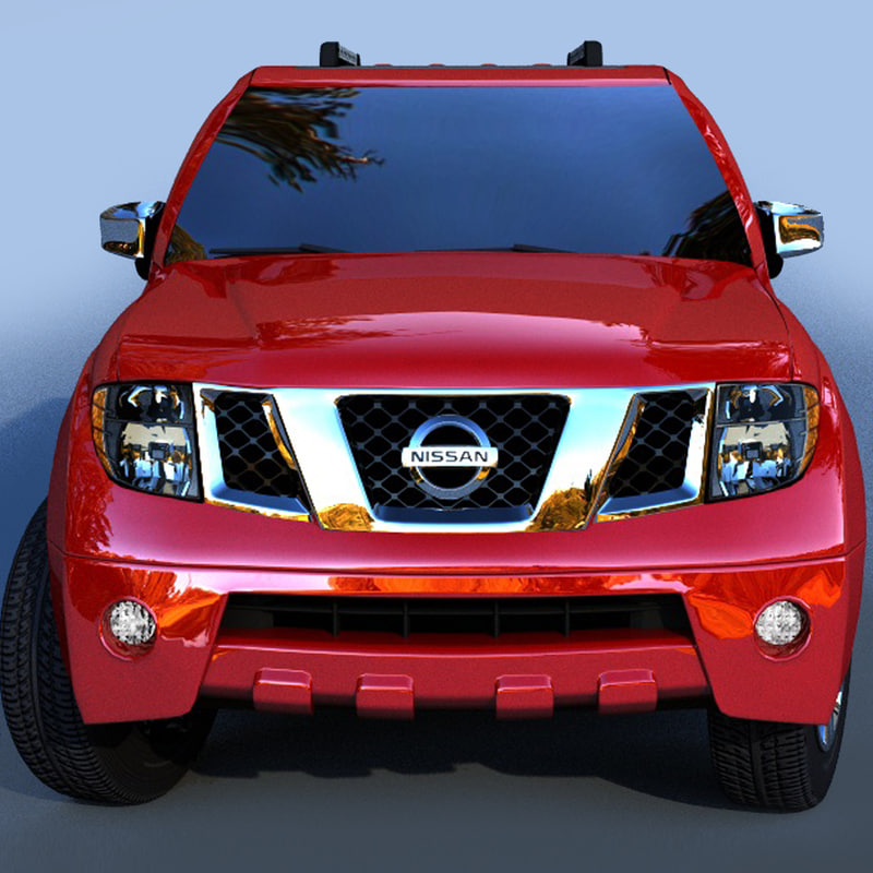 3d nissan pathfinder 2011 car