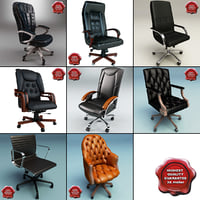 office chairs v4 3d c4d