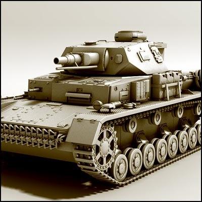 tank panzer iv max