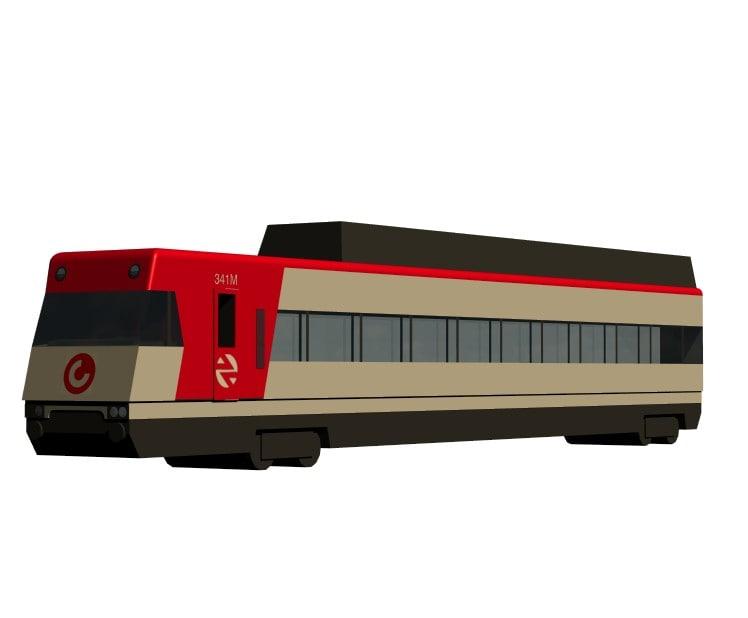 free max model tren cercanias madrid -