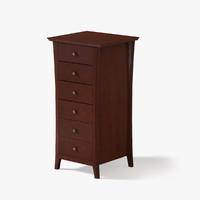 3d tall dresser model