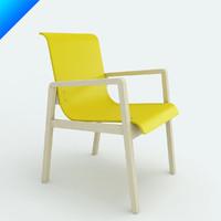 3d model alvar aalto armchair 403