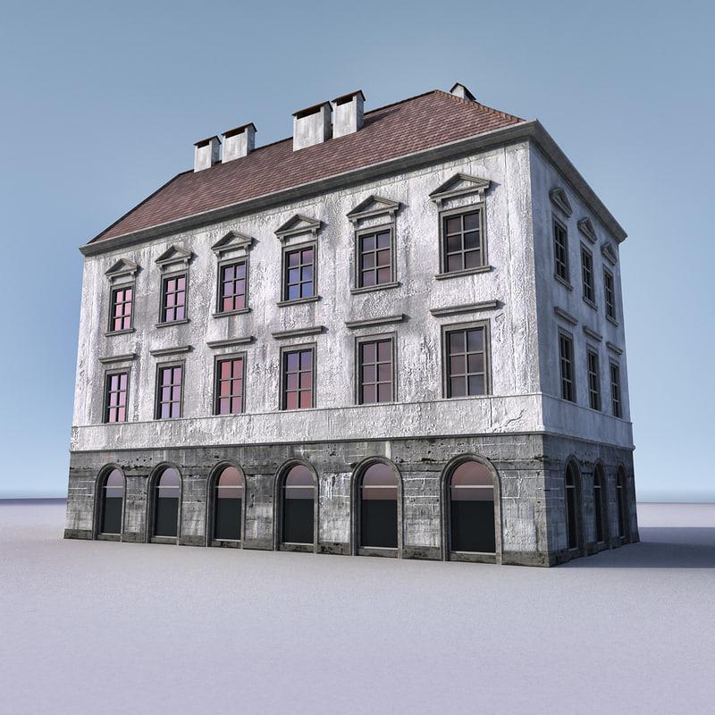 european building europe 3ds