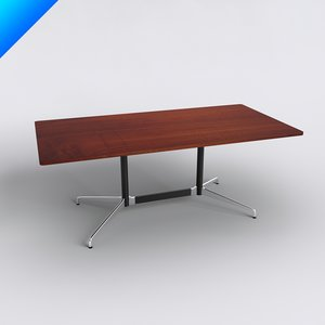 3d charles eames table tops model