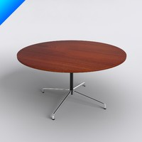 3ds max eames table furniture