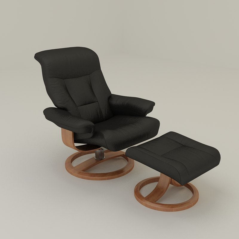 3ds max nordic50 easy chair