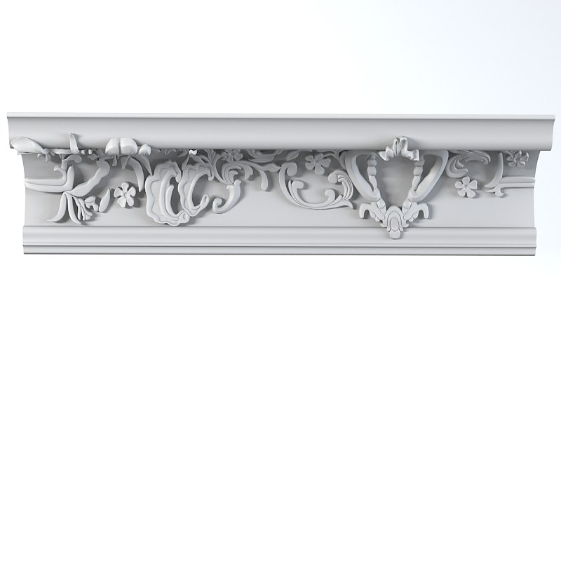 peterhof plaster wall 3d 3ds