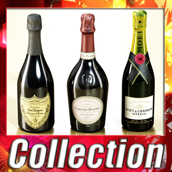 max 3 champagne bottles