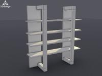 3d stand closet