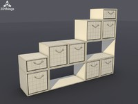 3ds max stand closet
