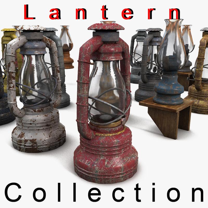 3ds max lantern iron