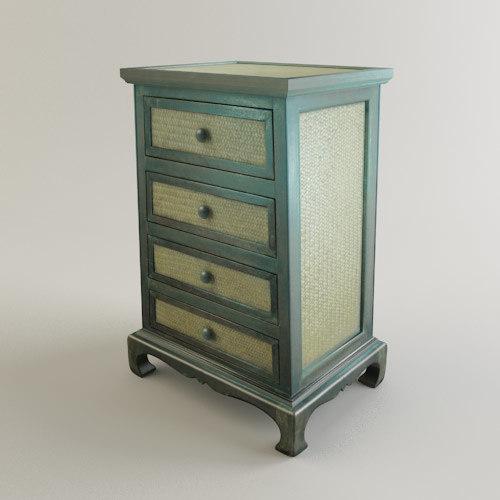 3d model bali drawer