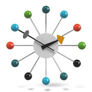 3d ball clock george model