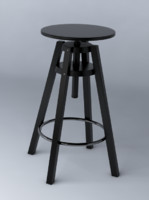 3d model production dalfred bar stool