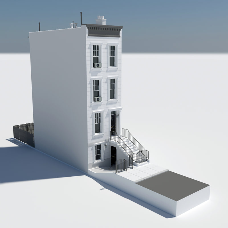 Home street new york 3d model for The model apartment