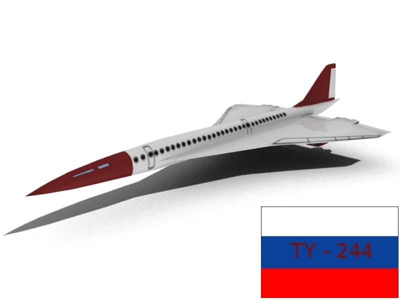free 3ds model aircraft low-poligon