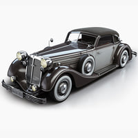 3d model horch 853