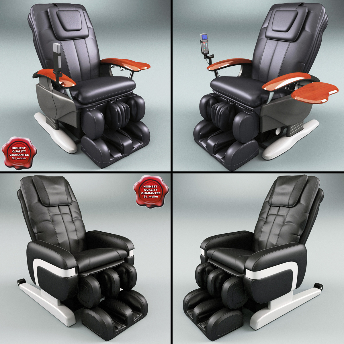 3d massage chairs
