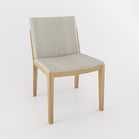 3d model beatrice dining chair poltrona frau