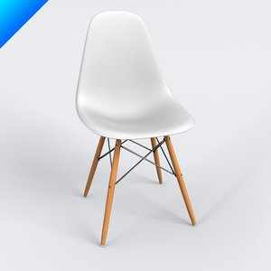 c4d dining chair charles eames