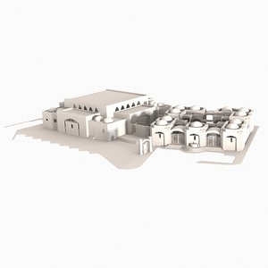 3d model of middle eastern