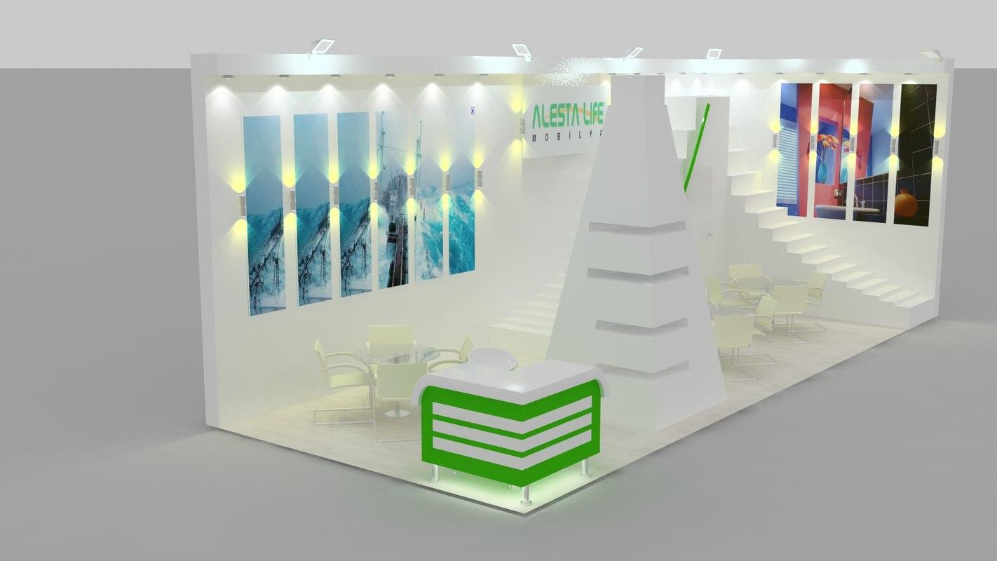 Exhibition Stand Design Presentation : Fair stand exhibition presentation max