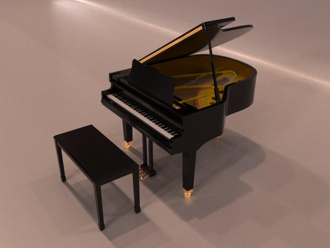 grand piano blend