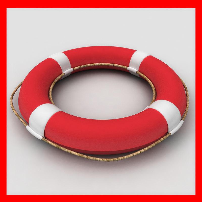 lifebuoy buoy 3ds