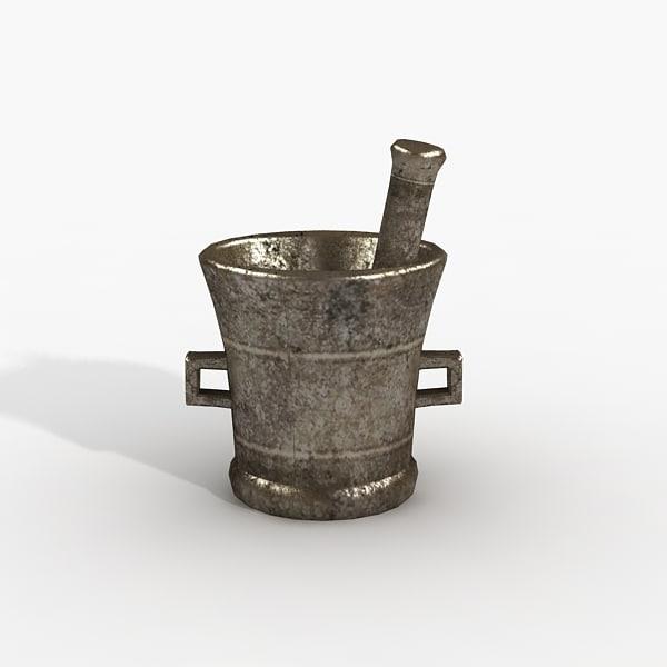 mortar pounder 3d max
