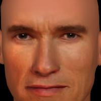 arnold schwarzenegger head 3ds free