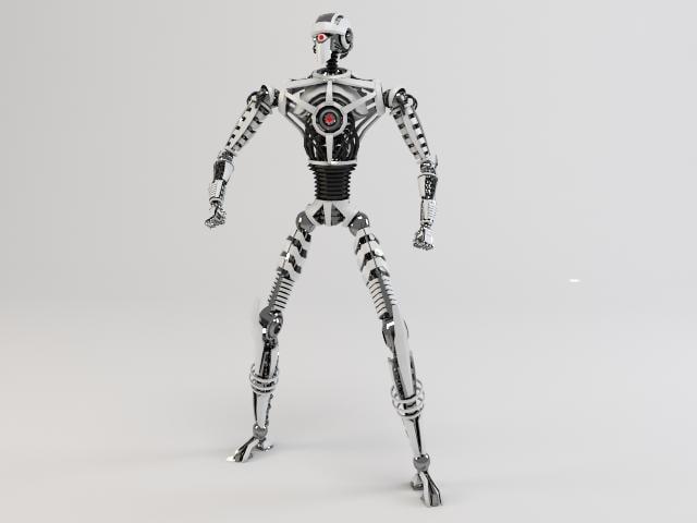 3d robot sin230 model