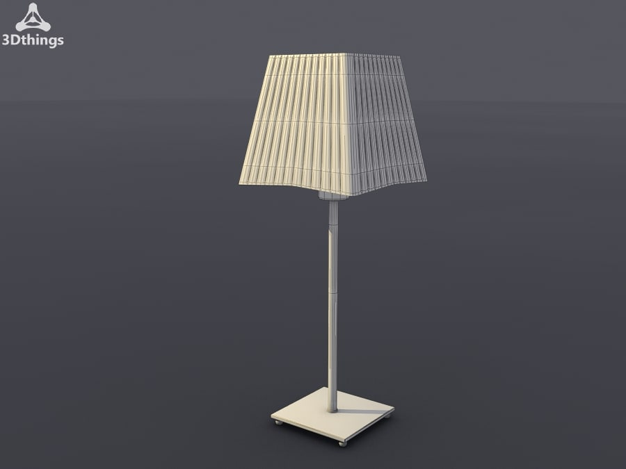 table lamp modern 3d max